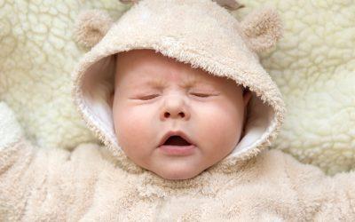 Nafas Grok-Grok Pada Bayi