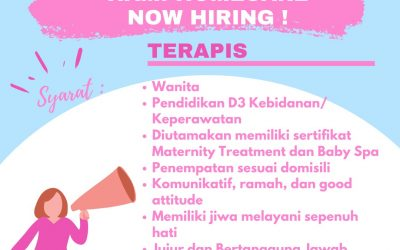 Now Hiring: Terapis